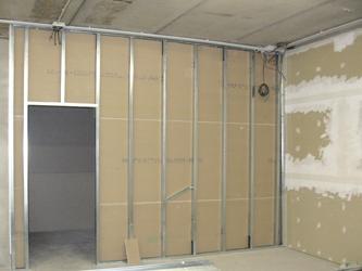 Il cartongesso un sistema innovativo dell edilizia a secco utilizzato per costruire pareti - Parete attrezzata in cartongesso costo ...