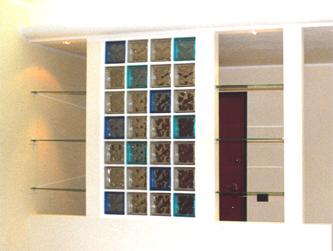 Parete cartongesso e vetrocemento profilati alluminio for Pareti divisorie vetrocemento